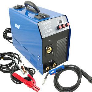 5.MIG-250 Schutzgas Inverter Schweißgerät MIG MAG + E-Hand IGBT 250Amp 230V